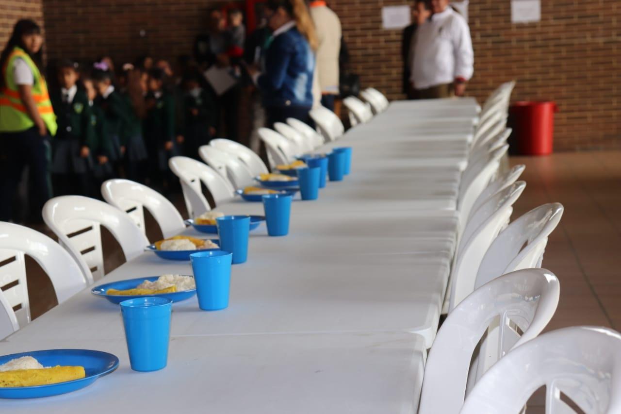 Programa de Alimentación Escolar en Soacha presenta buen rendimiento en el 2019