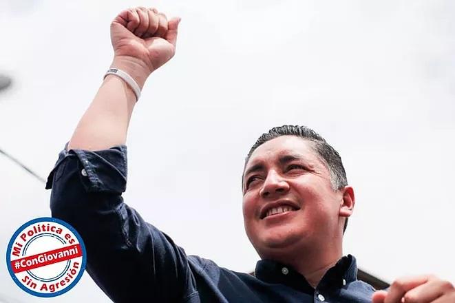 Partido Liberal otorga coaval a Giovanni Ramírez Moya