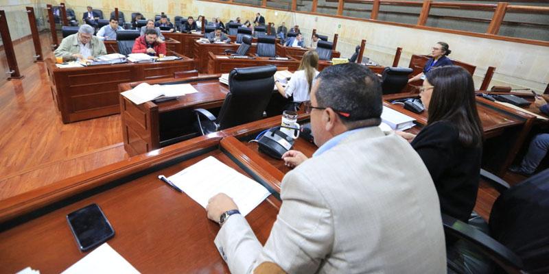 Asamblea de Cundinamarca aprobó más $2,8 billones para la vigencia 2020