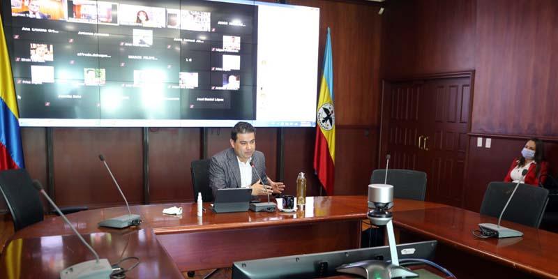 """""""Bogotá y Cundinamarca juntos son imparables"""", Gobernador Nicolás García"""