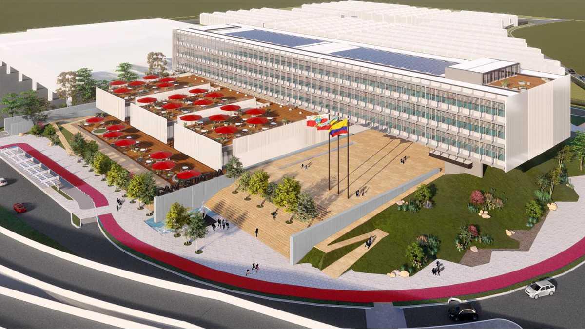 Soacha invertirá más de 130.000 millones de pesos en la construcción de una de las edificaciones más modernas del país
